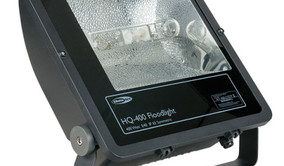 HQI Flood light 400 watt wit